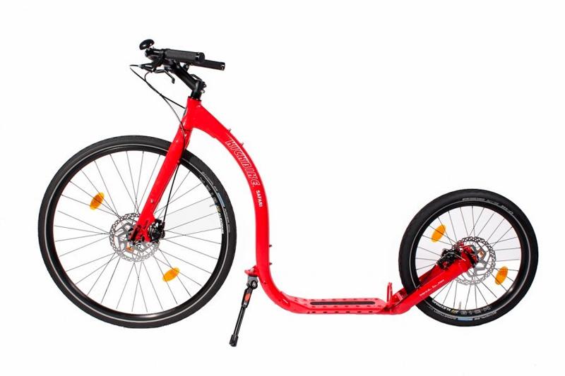 Elektrické kolobežky na turistika a dlhé trasy, Kickbike,  potenciál rýchleho, čistého a lacného cestovania